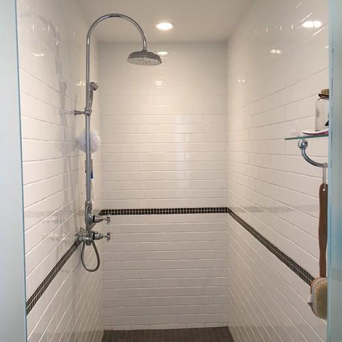 Sparkling shower!