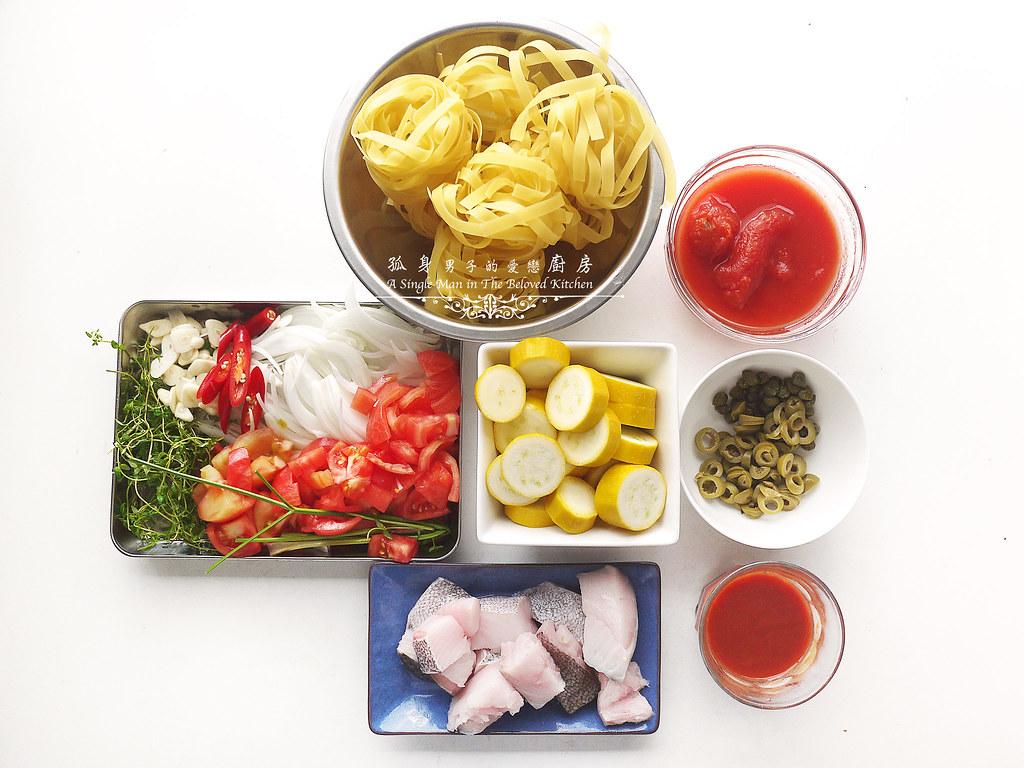 孤身廚房-寶迪鍋一鍋到底茄汁綜合貝類義大利麵佐烤天使紅蝦與櫛瓜7
