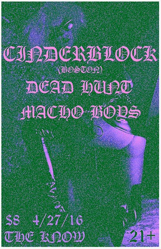 4/27/16 Cinderblock/PMS84/Franky