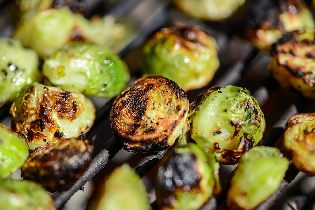 Brussels Sprouts with Thai Flavors