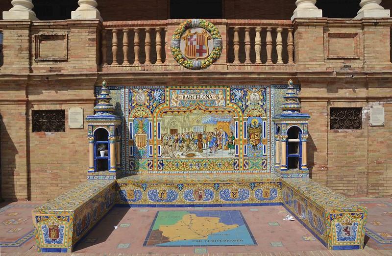 Plaza de España, Sevilha, Espanha