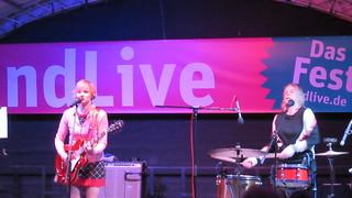 Bernadette La Hengst beim ndLive Fest 2