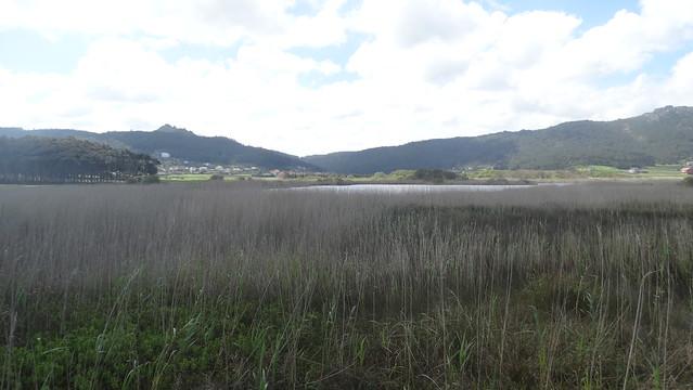 Laguna de Traba en Laxe