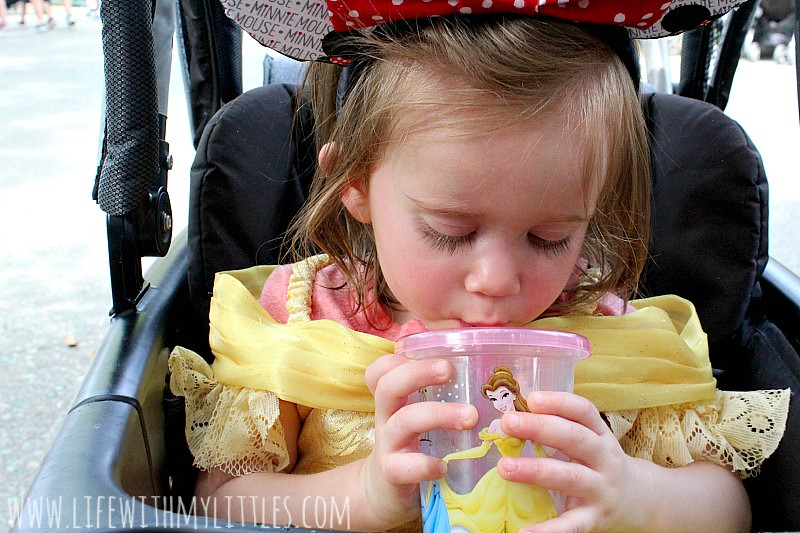 Disneyland is amazing but it can be stressful if you don't pack your diaper bag right. Here's what to pack in your diaper bag for Disneyland!