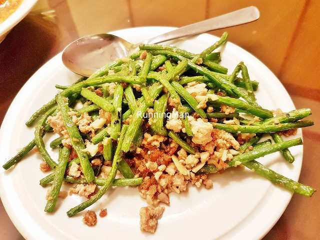 Fried French Beans With Minced Pork
