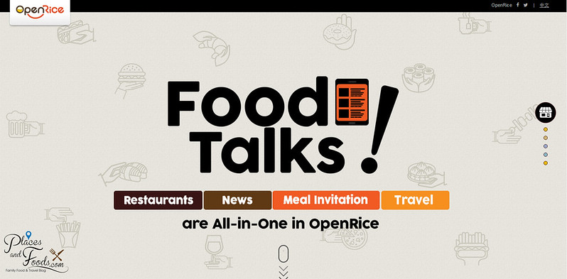 open rice food talks