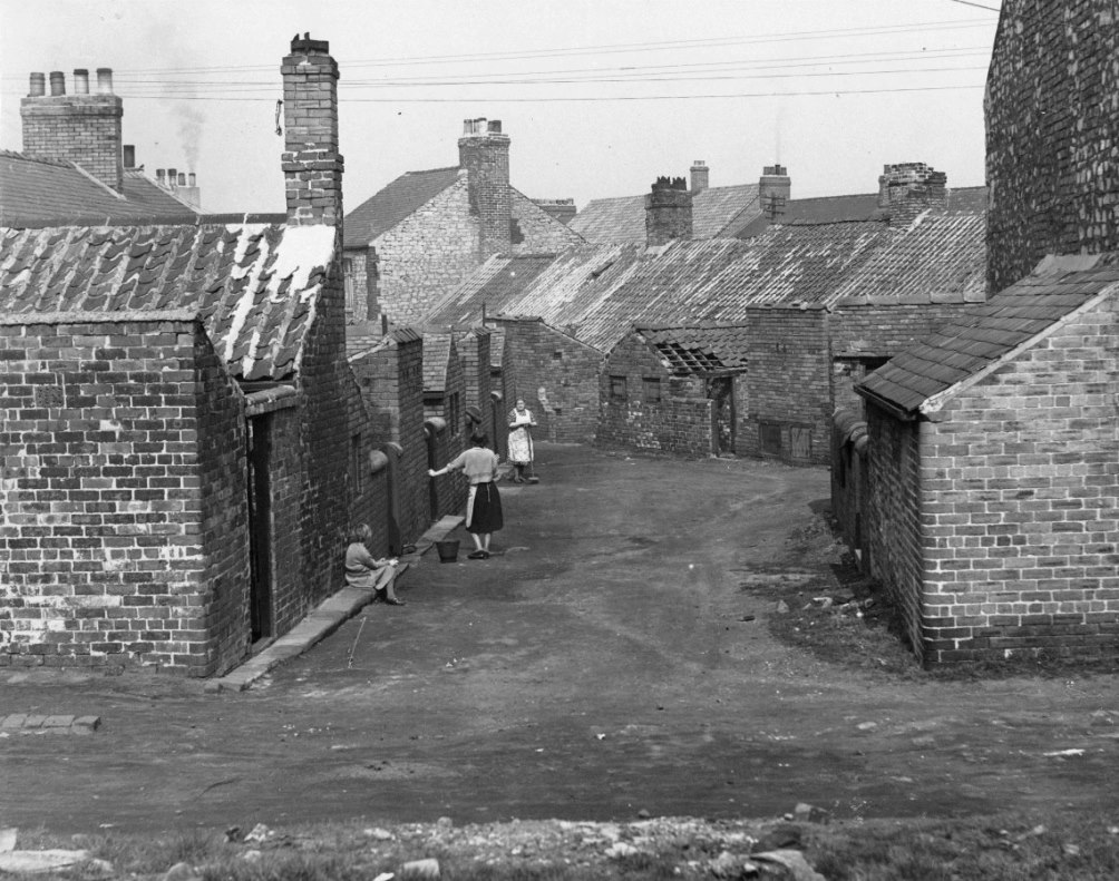 Life on the Brickgarth housing estate, Easington Lane