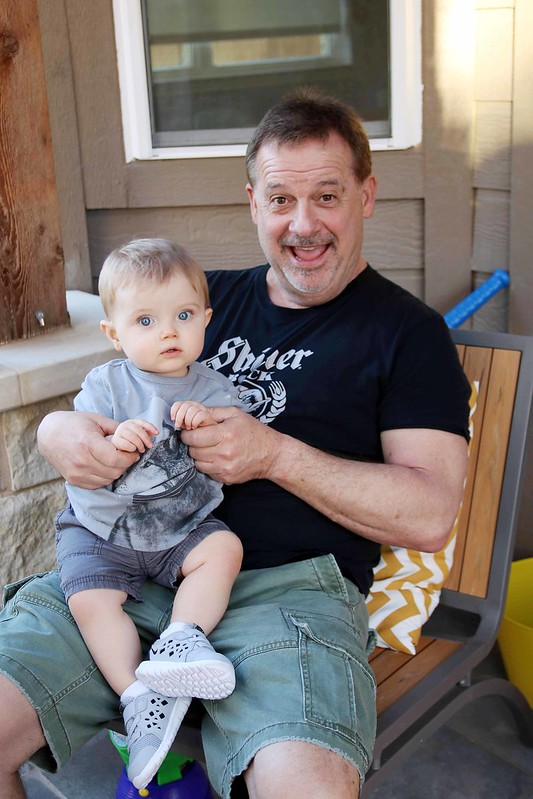 Finnegan and Grandpa