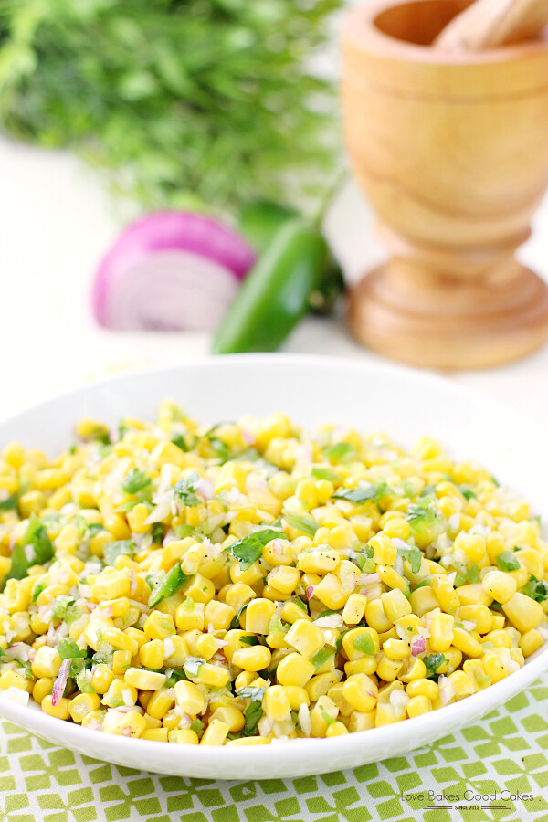 Enjoy this Corn Salsa with tortilla chips - or use it in your favorite Mexican recipes for a fresh new twist!