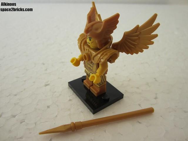 Lego Minifigures S15 le guerrier volant p2