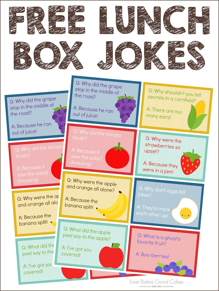 Make lunchtime more fun with these FREE Lunch Box Jokes and Smucker's Uncrustables!  AD