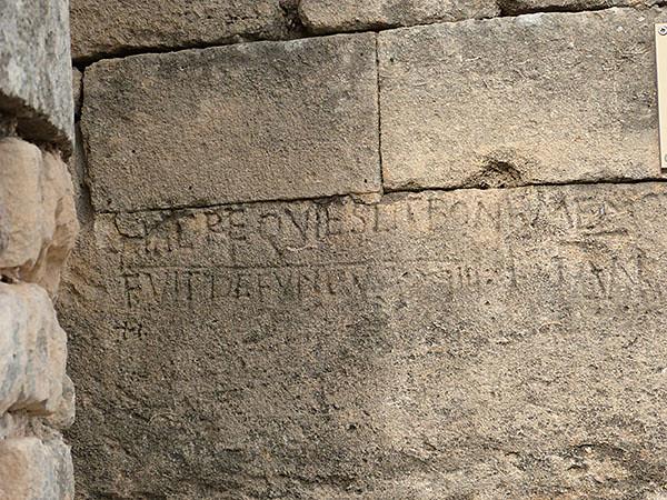vieilles inscriptions
