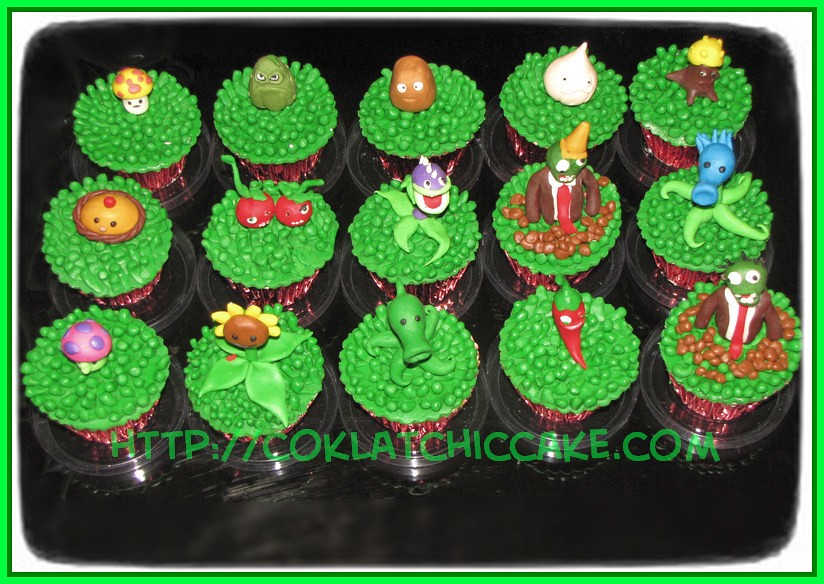 Cupcake Plants vs Zombie