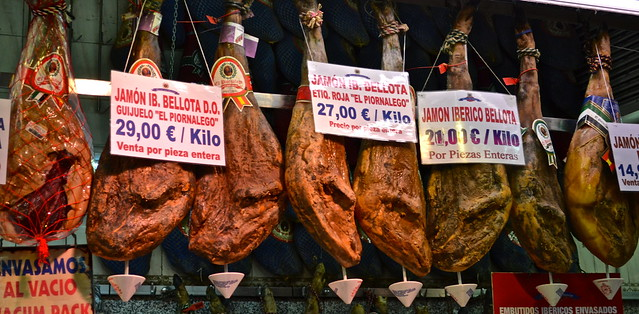 jamon iberico - Madrid in Photos
