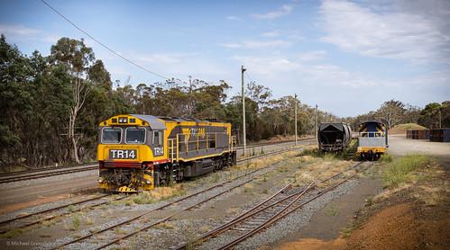 au australia trains tasmania conara tr14 trclass conarajunction