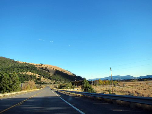 road rural landscape highway montana roadtrip freeway bigsky