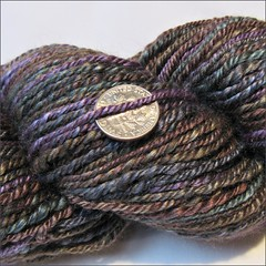 Calypso handspun, close up
