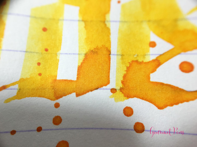Ink Shot Review Montblanc Golden Yellow @AppelboomLaren @Montblanc_World (10)