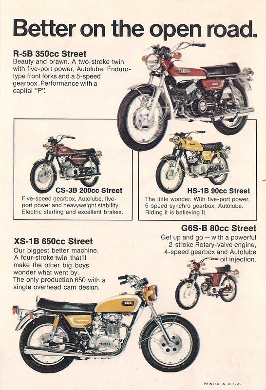 1971 Yamaha 5