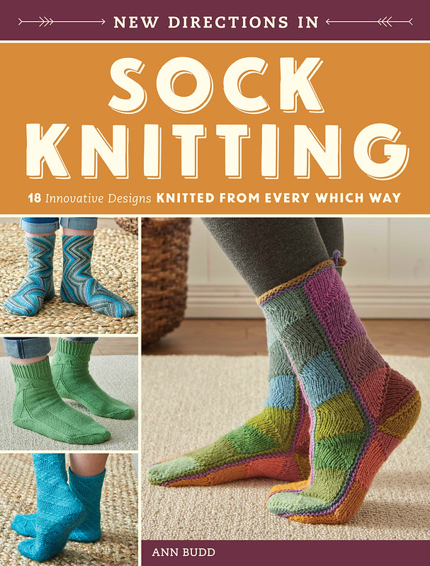 New Directions in Sock Knitting - Cover