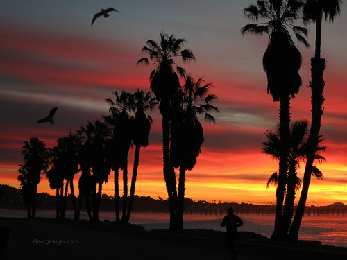 Ventura Winter Dawn, by George Alger