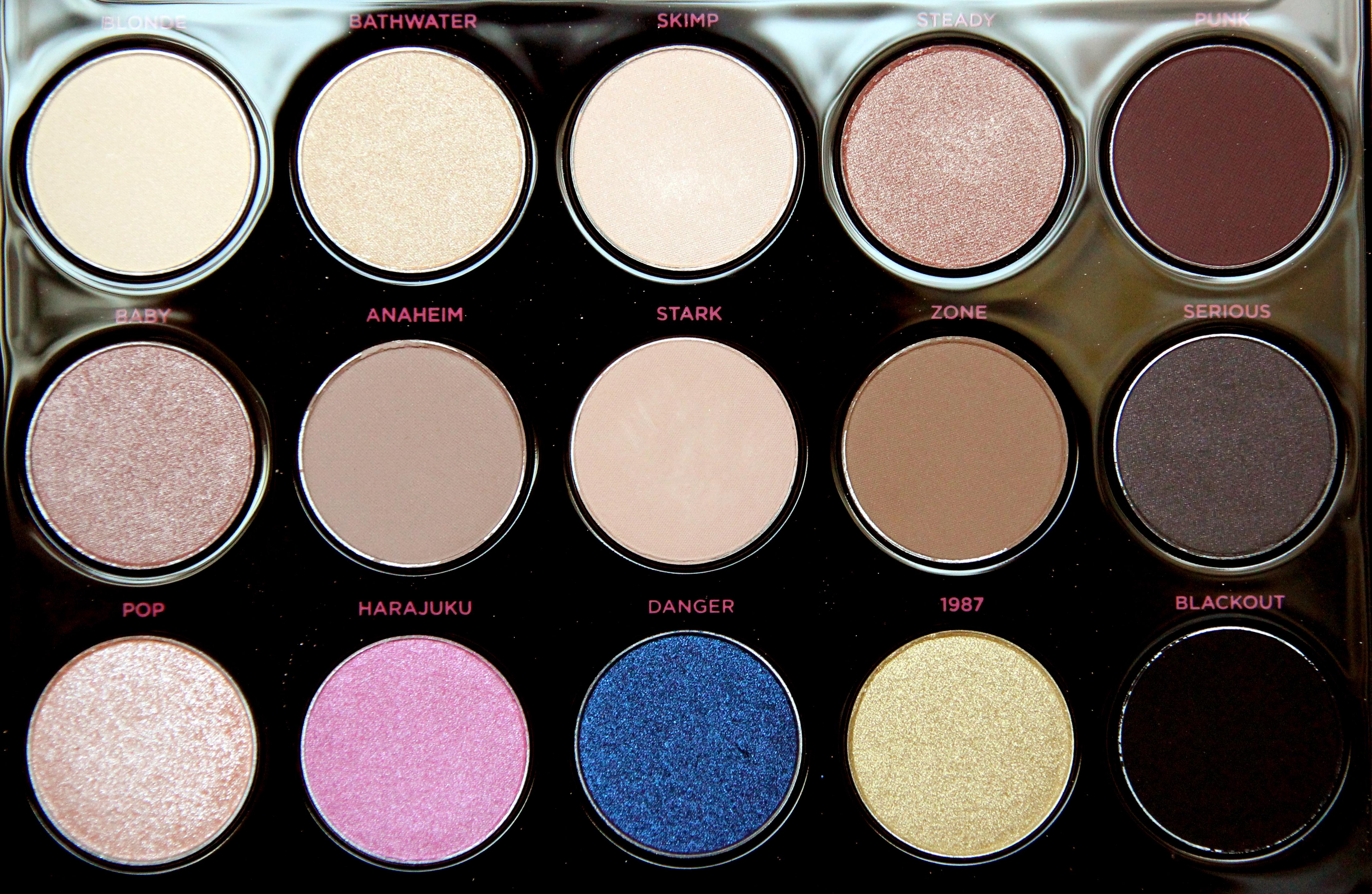 Urban Decay Gwen Stefani eyeshadow palette2