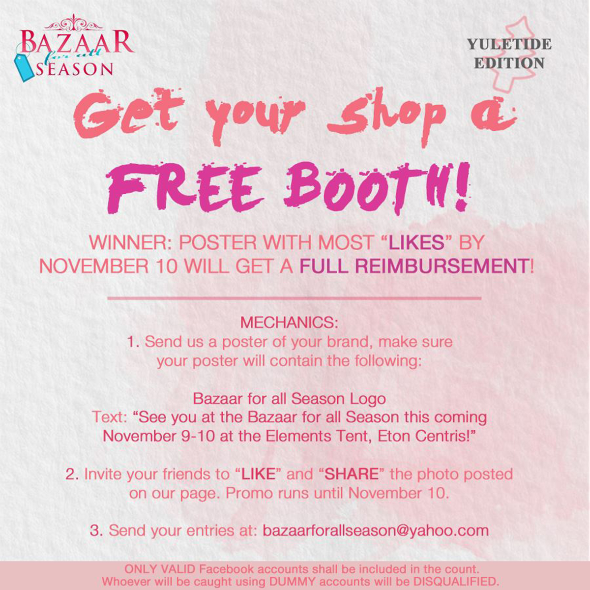 Bazaar For All Season