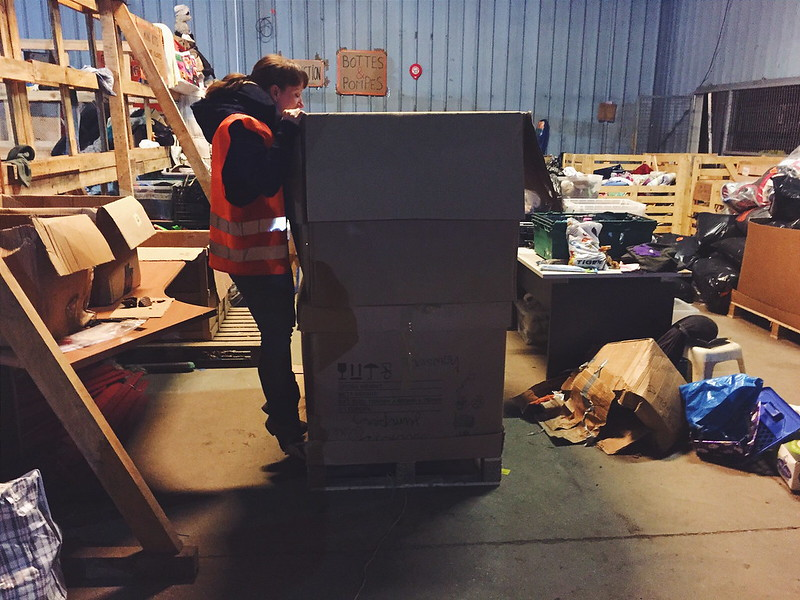 The Refugee Crisis: Volunteering in the Calais Warehouse