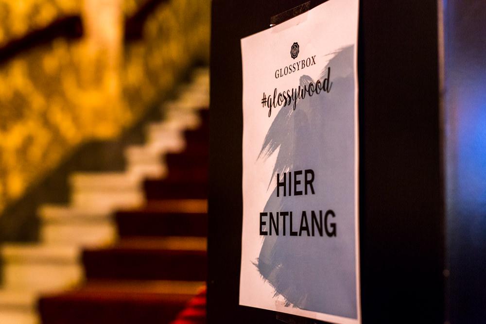 Glossybox #glossywood im Passage Kino Hamburg