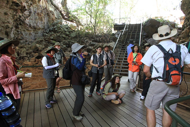澳洲昆士蘭Undara 火山NP-熔岩洞導覽解說-20141116-賴鵬智攝-1