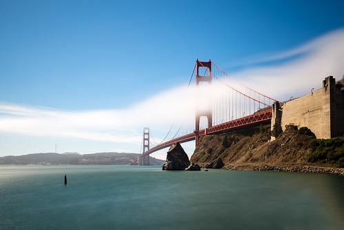 sanfrancisco california travel bridge usa cloud fog america canon us baker unitedstates fort ngc goldengatebridge vista sausalito 6d 1635mm