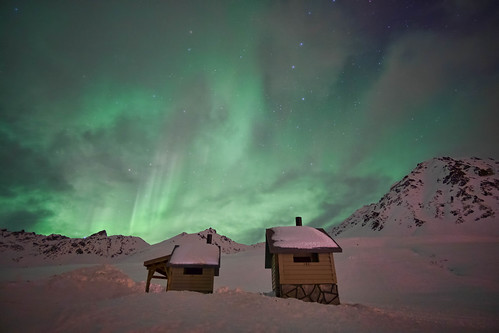 Northern Lights - Hatcher Pass - Alaska