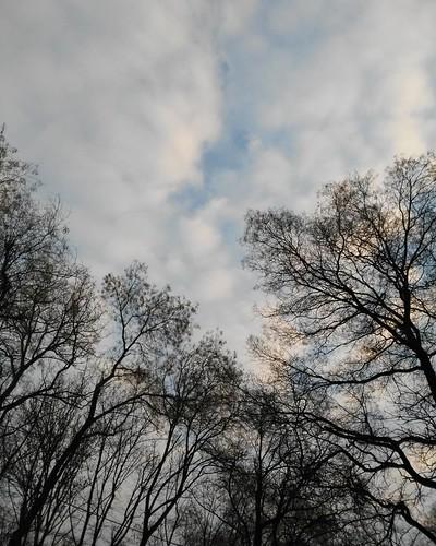The sky over me #clouds #sky #odessa_ukraine #mycity
