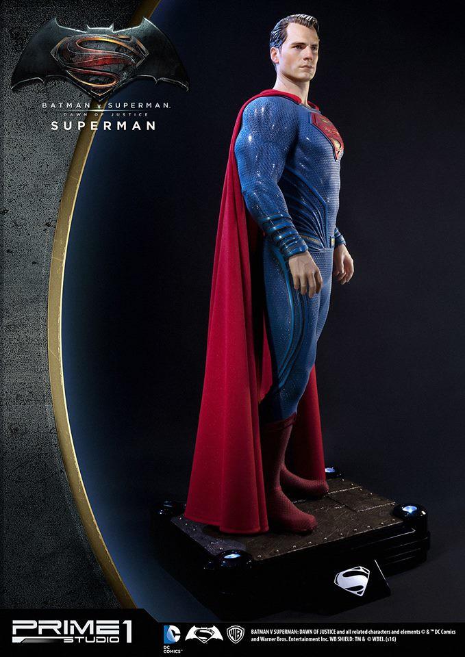 Prime 1 Studio 蝙蝠俠對超人:正義曙光【超人】Superman 1/2 比例超巨大全身雕像