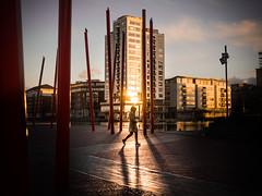 Sunset - Dublin, Ireland - Color street photography