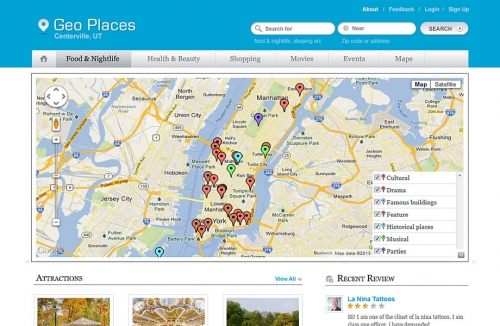 Templatic Geo Places v4.6.21 - WordPress Theme