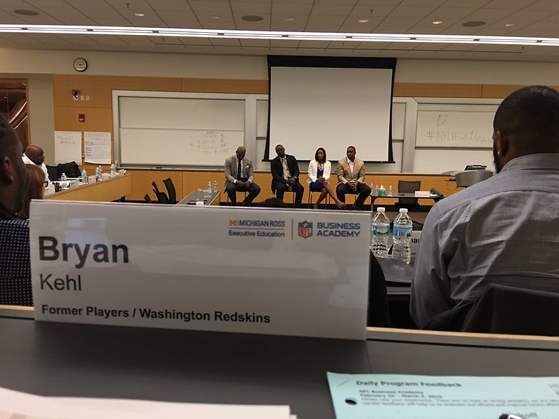 NFL Player Engagement - Business Academy 2016
