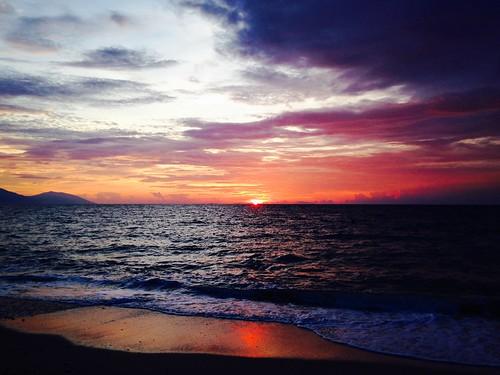 sunset beach philippines
