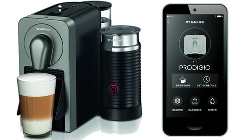 Nespresso Prodigio smart coffee maker