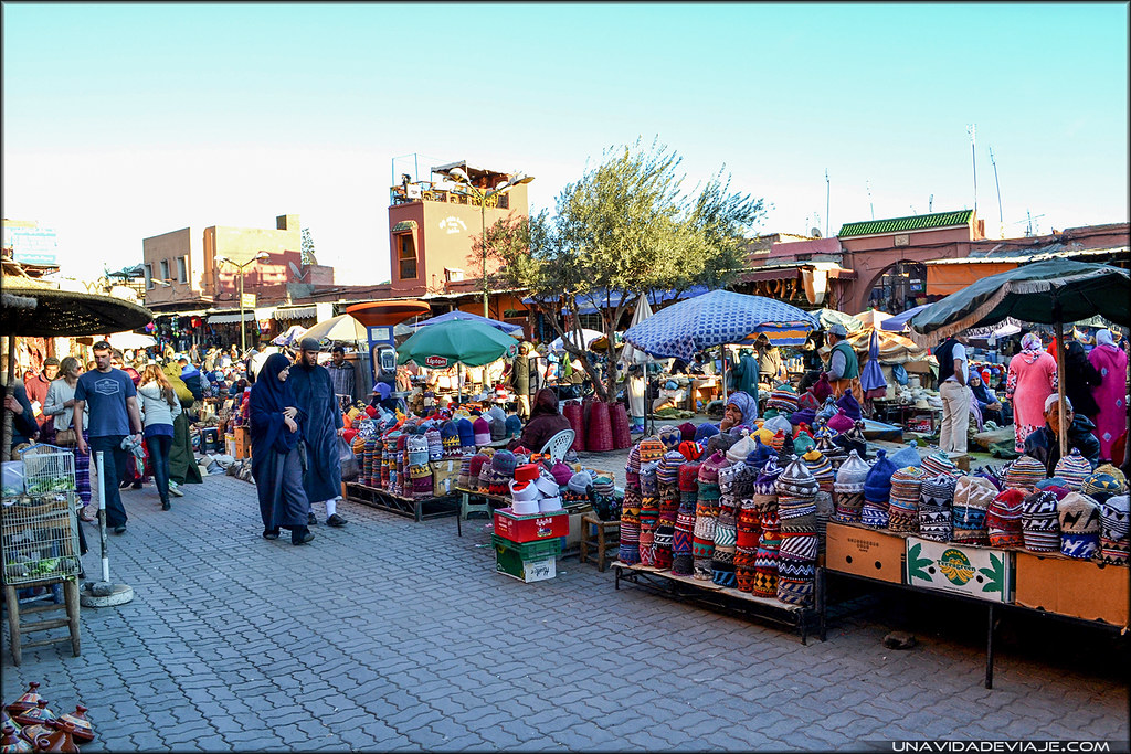 Marruecos sur Marrakech especias