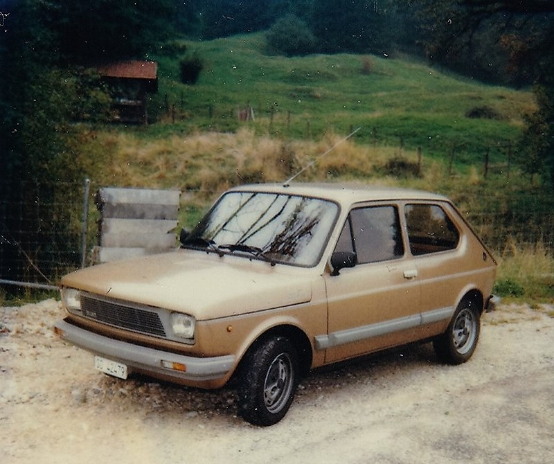 Fiat 127 Top - my first car