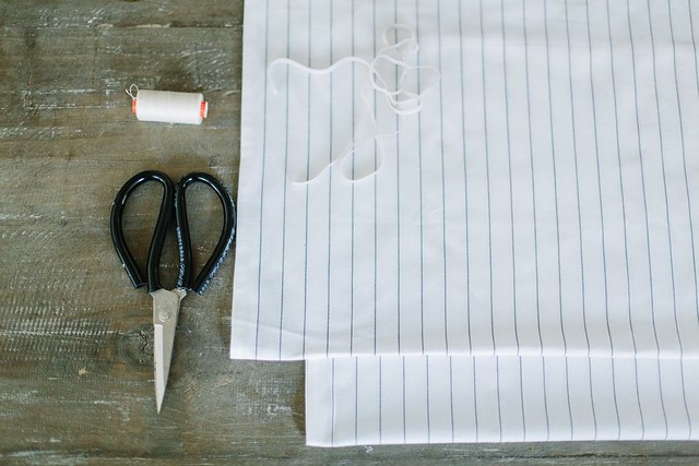 DIY Striped Summer Strapless Top