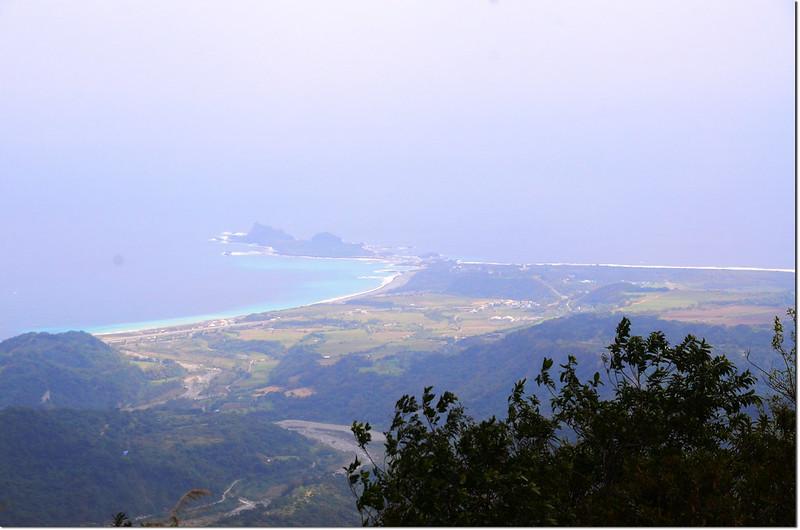 麻荖漏山東峰礦區道路俯瞰三仙台 3