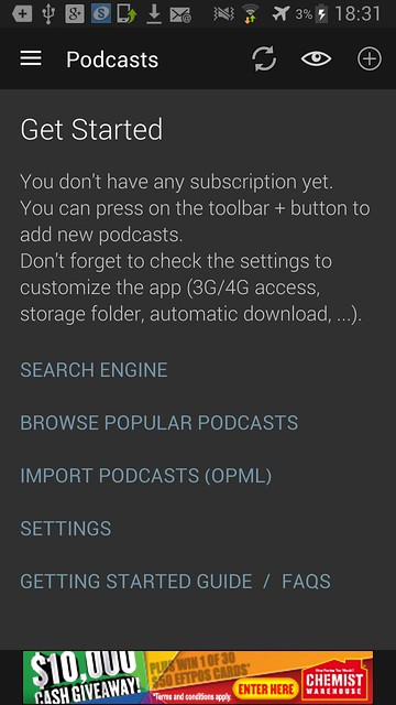 4 open podcast app