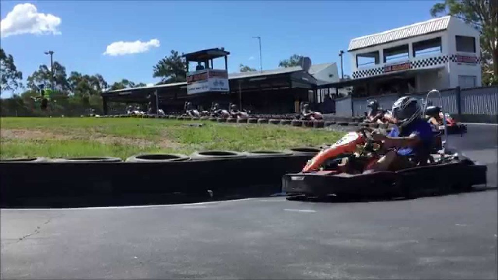 Best Go Karting near Gold Coast - amazing outdoor track with fast