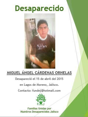 Personas desparecidas en Lagos de Moreno