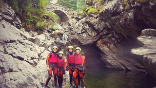 Cliff Jumping, Canyoning, Gorge Walking & Coasteering