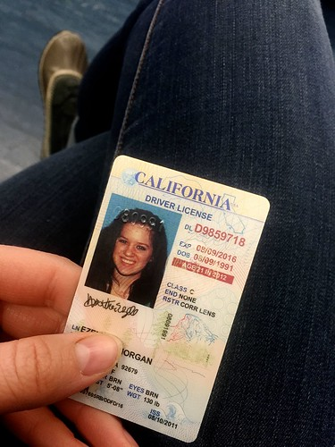 goodbye California ID.