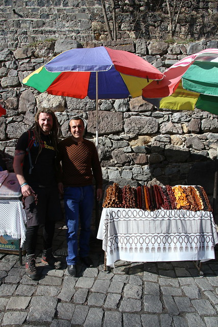 Armenian Snickers. Geghard Monastery