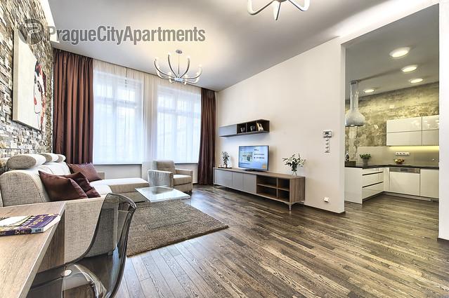Krizovnicka 12 Two-Bedroom Apartment